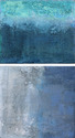 Sea Surge Diptych SOLD